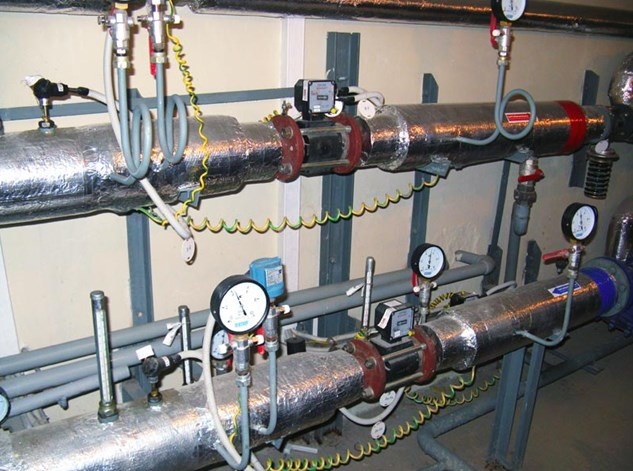 Тепловой узел системы отопления