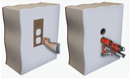 Организация прохода вентиляционных каналов через стену
