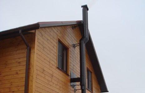 Дымоход в частном доме