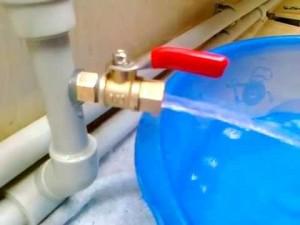 Как слить систему отопления в квартире