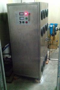Озонатор для очистки большого количества воды