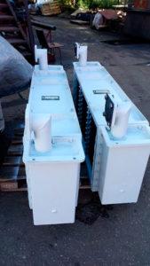Конструкция воздухоохладителя поверхностного типа