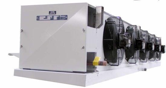 Где применяют кубический воздухоохладитель