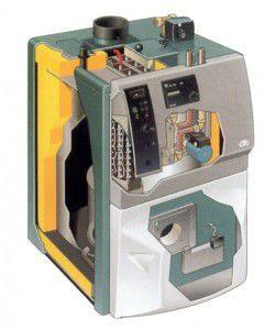 Комбинированный котел отопления газ-электричество