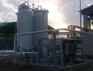 Установка рекуперации паров бензина на АЗС
