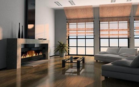 Оптимальный вариант для монтажа – смежная стена с окном