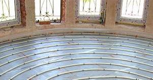 Теплый пол в деревянном доме от газового отопления