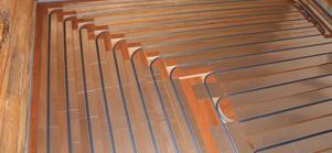 рассчитать систему «теплые полы» в деревянном доме