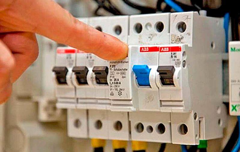 Автоматический выключатель кондиционера к электросети