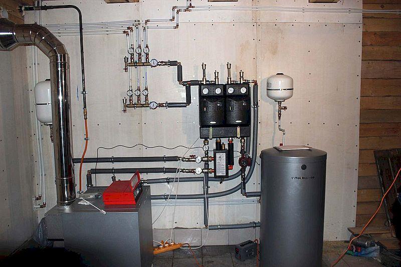 Фото: Инструкция для создания вентиляции в котельной с газовым котлом