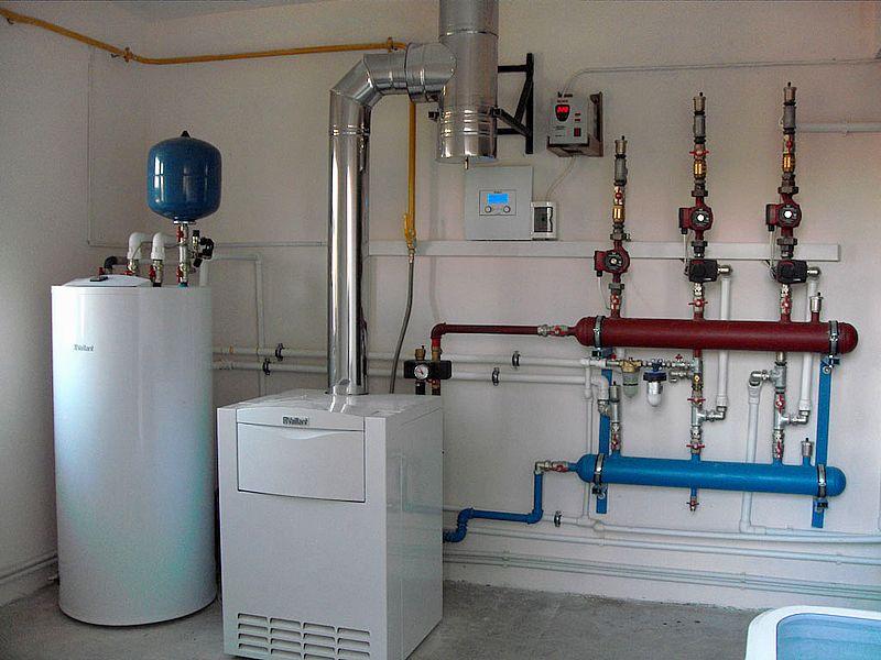 Правильно устроенная вентиляционная система в котельной с газом
