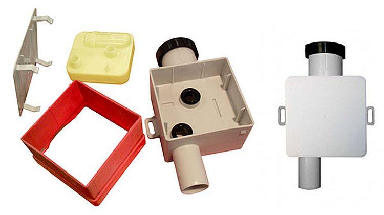 подключение дренажного сифона с обратным клапаном к канализации