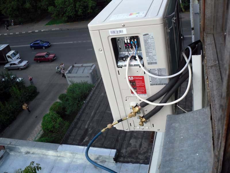 Фото: способы подключения кондиционера к электросети