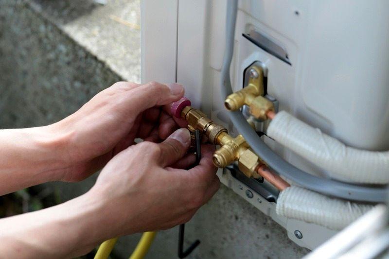 Фото: Инструкция по проверке кондиционера на утечку фреона
