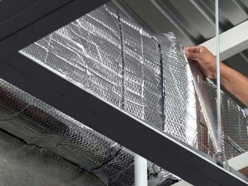 Как произвести теплоизоляцию наружного воздуховода