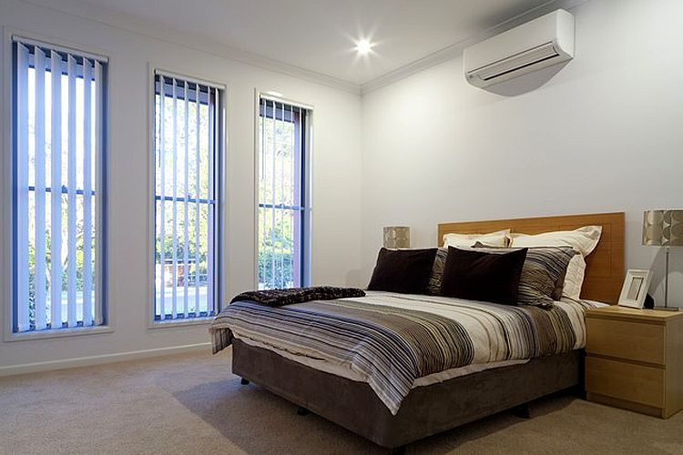 Спальня со сплит системой
