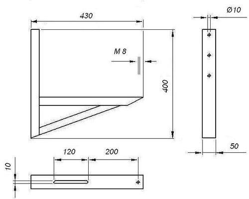Схема устройства креплений