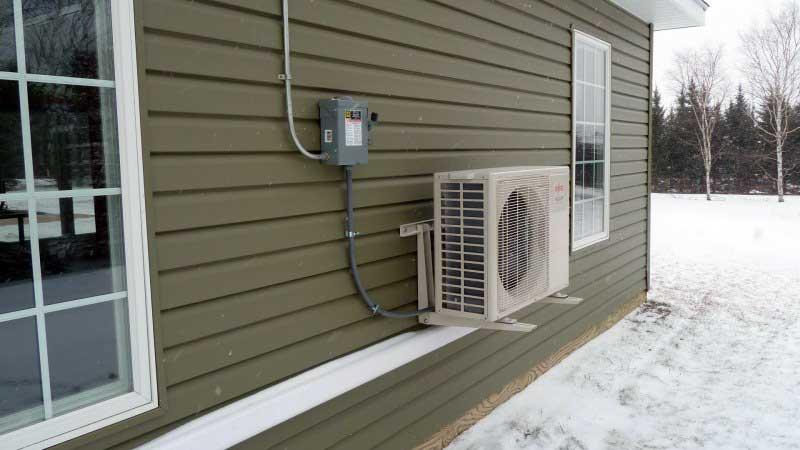 Отопление частного дома сплит-системой